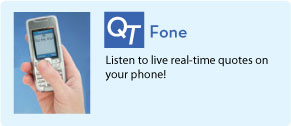 QT Fone: Listen to live real-time quotes on your phone.